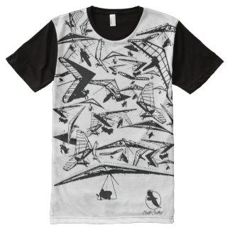HANG GLIDING HG-35 Ponto Central All-Over-Print T-Shirt