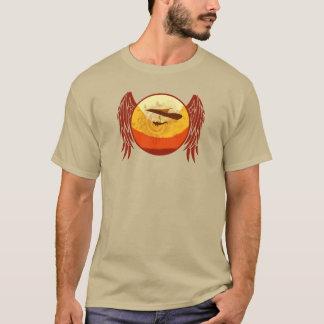 HANG GLIDING HG-CIRCLE 005 Ponto Central T-Shirt