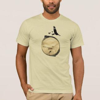 HANG GLIDING HG-CIRCLE 006 Ponto Central T-Shirt