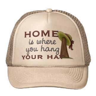 Hang Hat At Home