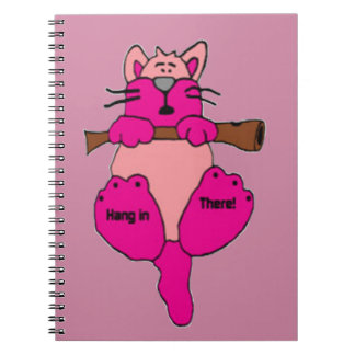 Hang in There Notebook
