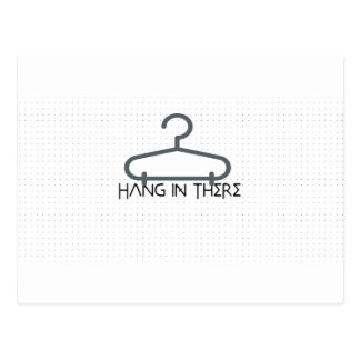 hang in there postcard