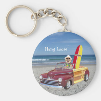 Hang Loose! Keychain