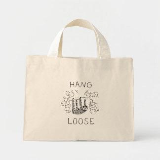 Hang Loose Sloth Mini Tote Bag