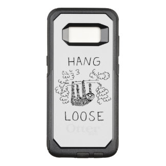 Hang Loose Sloth OtterBox Commuter Samsung Galaxy S8 Case