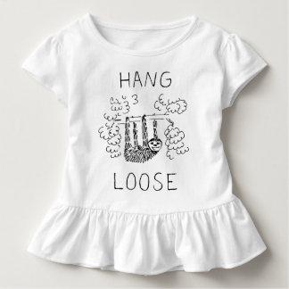 Hang Loose Sloth Toddler T-shirt