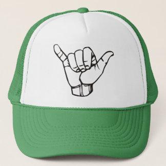 Hang Loose Snapback Trucker Hat