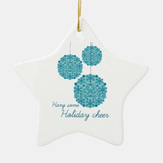Hang Some Holiday Cheer Christmas Ornament