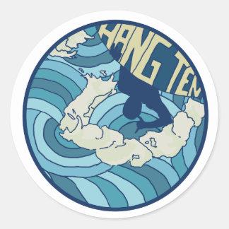 Hang Ten Sticker