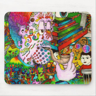 """Hang-Thinking Accident"" original art by bbqshoes Mouse Pad"
