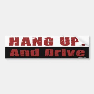 Hang Up Bumper Sticker