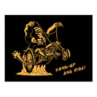 Hang Up & Ride! Postcard