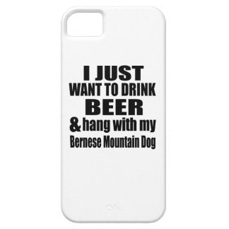 Hang With My Bernese Mountain Dog iPhone 5 Covers