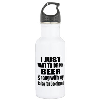 Hang With My Black & Tan Coonhound 532 Ml Water Bottle