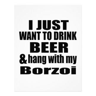 Hang With My Borzoi Letterhead