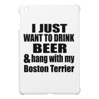Hang With My Boston Terrier iPad Mini Case