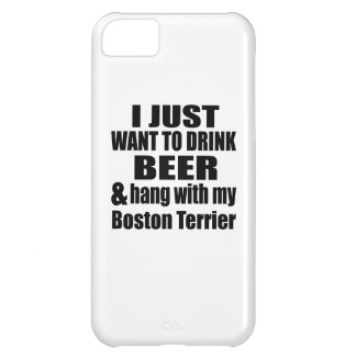 Hang With My Boston Terrier iPhone 5C Cover