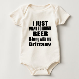 Hang With My Brittany Baby Bodysuit