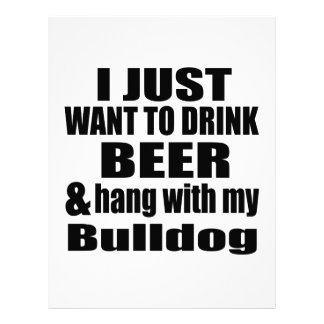 Hang With My Bulldog Letterhead