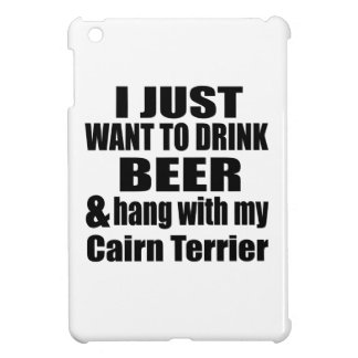 Hang With My Cairn Terrier iPad Mini Cover