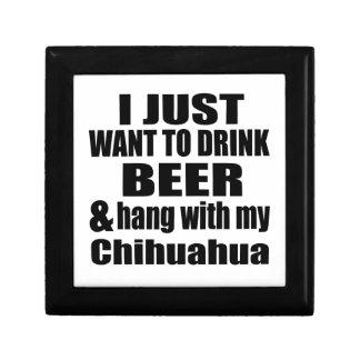 Hang With My Chihuahua Trinket Box