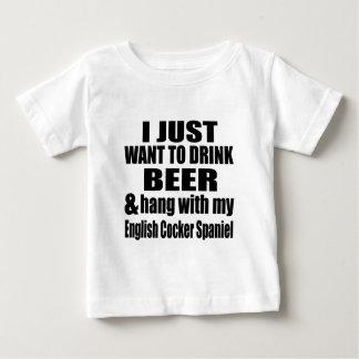 Hang With My English Cocker Spaniel Baby T-Shirt