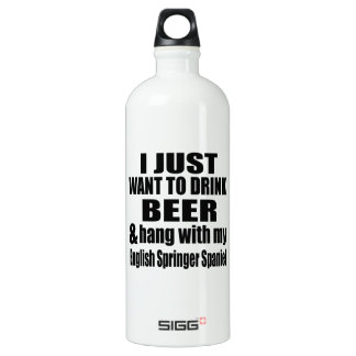 Hang With My English Springer Spaniel Water Bottle
