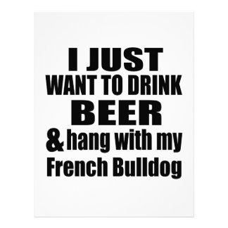 Hang With My French Bulldog Letterhead