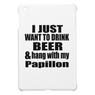 Hang With My Papillon iPad Mini Cover