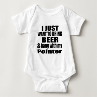 Hang With My Pointer Baby Bodysuit