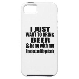 Hang With My Rhodesian Ridgeback iPhone 5 Covers