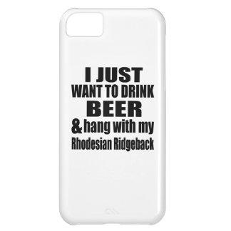 Hang With My Rhodesian Ridgeback iPhone 5C Cover