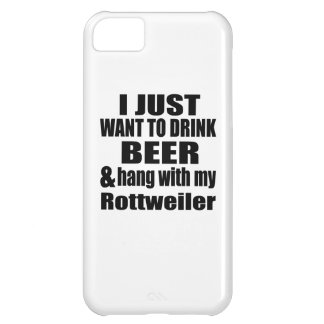 Hang With My Rottweiler Case For iPhone 5C