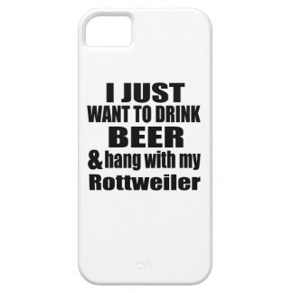 Hang With My Rottweiler iPhone 5 Cases