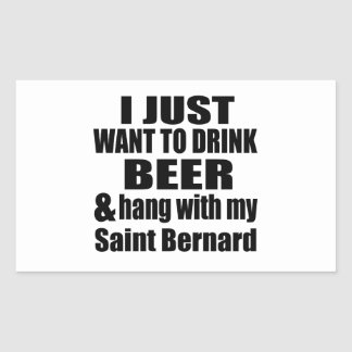 Hang With My Saint Bernard