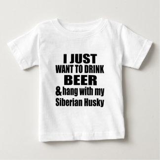 Hang With My Siberian Husky Baby T-Shirt