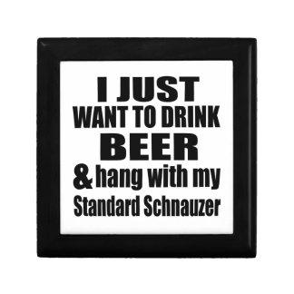 Hang With My Standard Schnauzer Gift Box