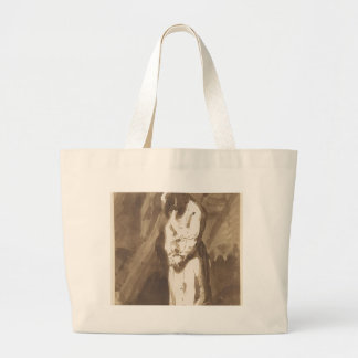 Hanged Man Large Tote Bag