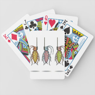 Hanged Roaches Sketch Bicycle Playing Cards