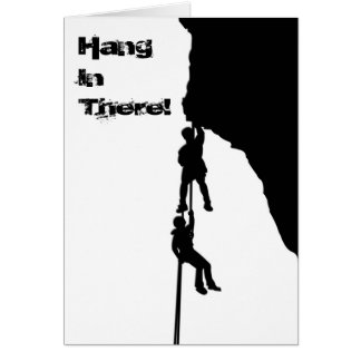 Hangin Out Greeting Card