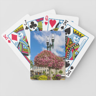 Hanging and Potted Plants in Lynden Washington Bicycle Playing Cards