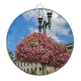 Hanging and Potted Plants in Lynden Washington Dartboard
