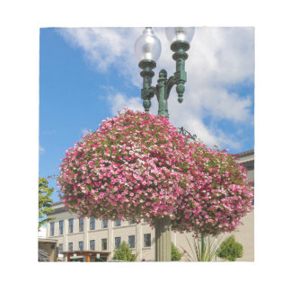 Hanging and Potted Plants in Lynden Washington Notepad