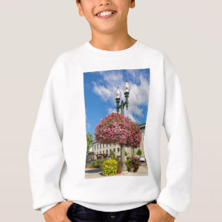Hanging and Potted Plants in Lynden Washington Sweatshirt