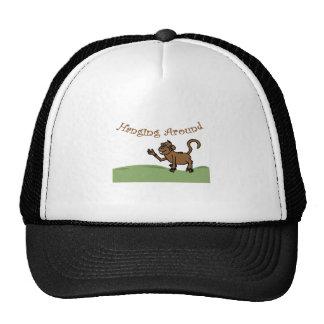 Hanging Around Trucker Hats