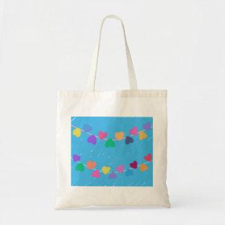 Hanging Hearts Tote Bag