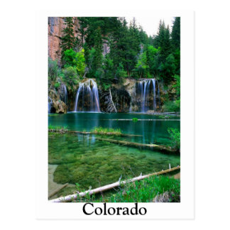 hanging lake, Colorado Postcard