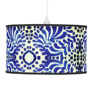 Hanging Lamp inspired by Vintage Pottery