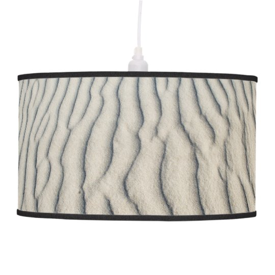 Hanging Lamp with Sea Sand Texture