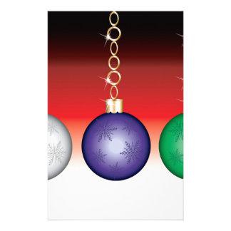 Hanging Ornament Design Stationery Design